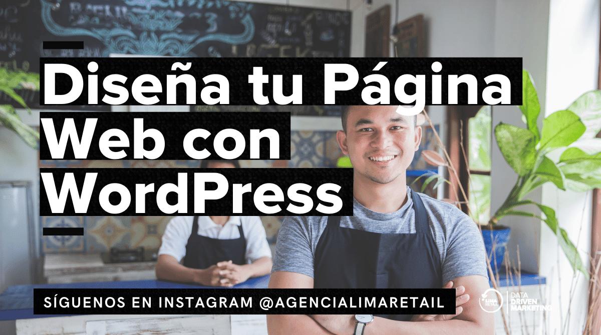 Diseña tu Página Web con WordPress