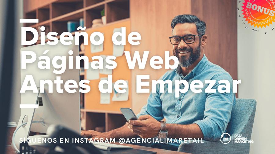 Diseño de Páginas Web – Antes de empezar tu proyecto