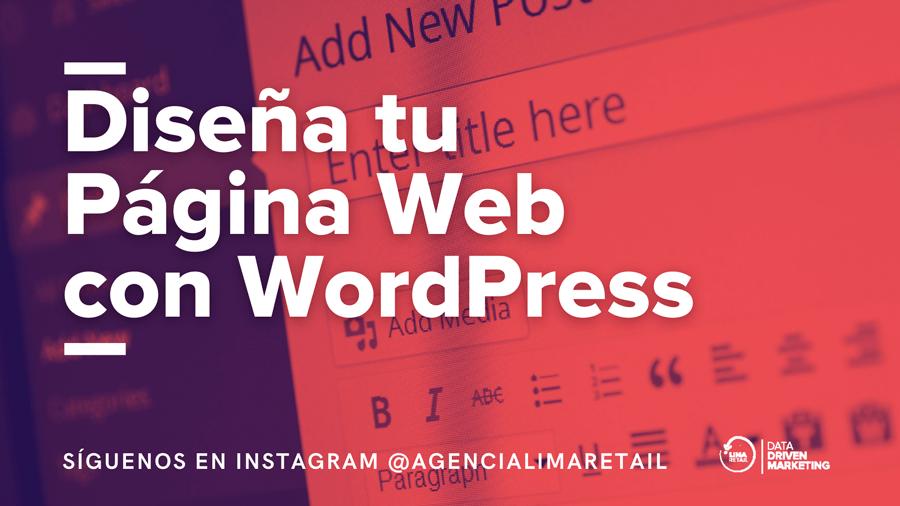 Diseño de Páginas Web con WordPress: Guía Práctica de Instalación 2021