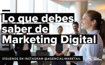 Marketing Digital: ¿Qué es y cómo aplicarlo?