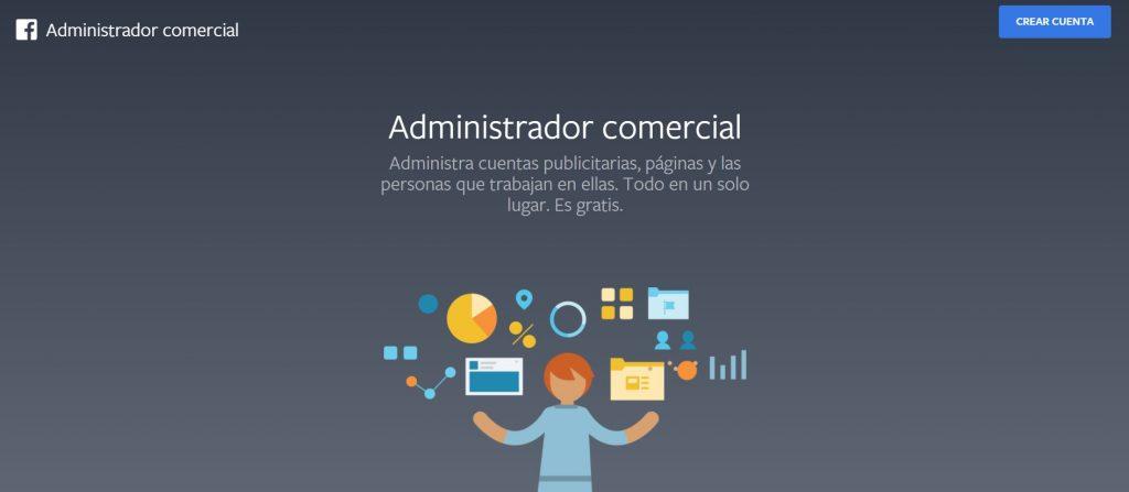 Facebook Administrador Comercial