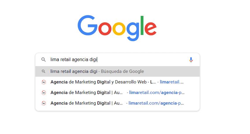 Google Ads y Google Search