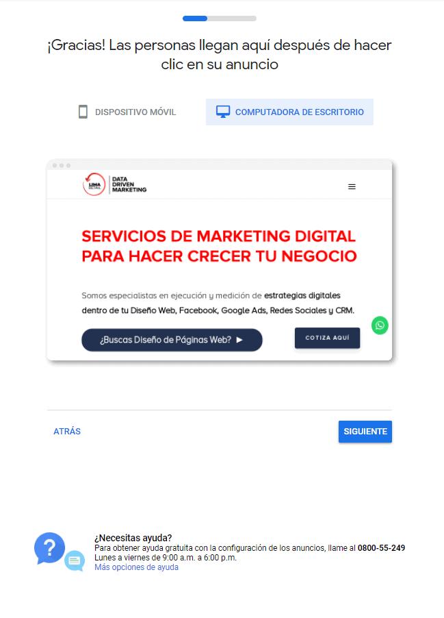 Google Ads Inicio