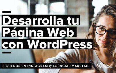 Desarrolla tu Página Web con WordPress: Guía práctica 2021