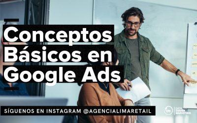 Conceptos Básicos en Google Ads