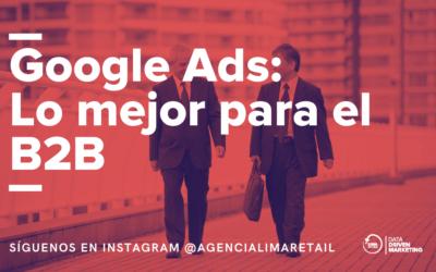 La mejor forma de captar Leads b2b es: Google Ads